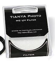 Ультрафиолетовый защитный MC UV светофильтр TIANYA 55 мм с мультипросветлением