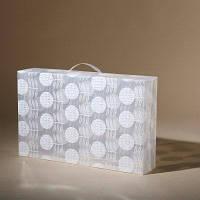 Пластиковая коробка для обуви Коробка для обуви Прозрачная складная пылезащитная коробка для хранения M