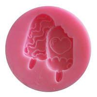 Facemile Ice Crem Силиконовые пресс-формы для конфет Fondant Gift Decorating Tools DIY Cupcake для выпечки Розовый