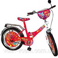 """Детский двухколесный велосипед 20 дюймов 132002 """"Winx"""""""