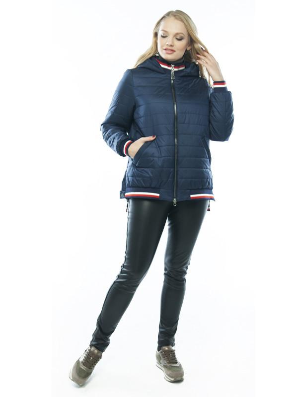 Яркая асимметричная куртка