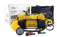 Компрессор автомобильный SOLAR AR 208 10 Атм, 85 л/мин.  двухцилиндровый