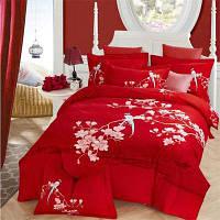 Комплект постельного белья из хлопкового хлопка двойной
