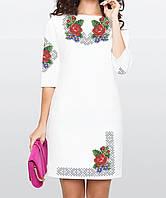 Заготовка жіночого плаття чи сукні для вишивки та вишивання бісером Бисерок  «Барви Літа» ( 37cdddecde590