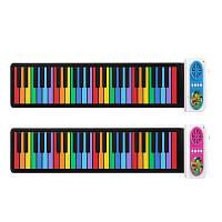 IWord Kids Rainbow 49-клавишный портативный ручной рояль 1pc Синий