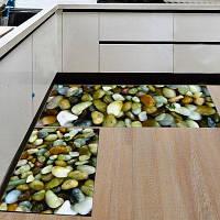 Кухонный пол Матовый супер мягкий каменный узор Домашний декоративный коврик для двери 40x60см