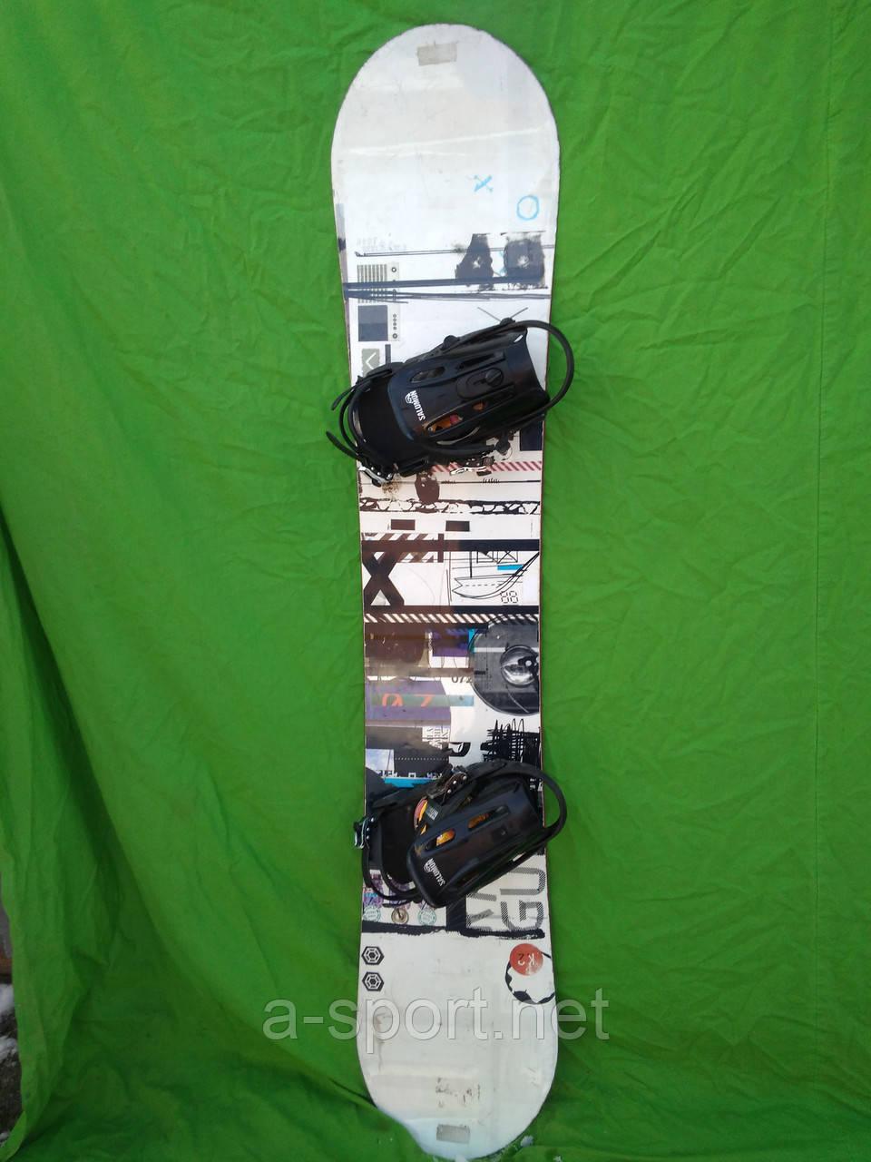 Сноуборд k2 raygun 164w см + кріплення Salomon