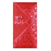 Красная свадебная свадьба Творческая бронзовая красная сумка запечатана 24 больших предмета оборудования туба