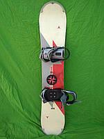 Сноуборд Dynastar 146 см + нові кріплення