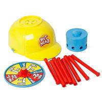 Мокрые воды Challenge Hat Cap Wheel Party Trick Game Toys Цвет маргаритки