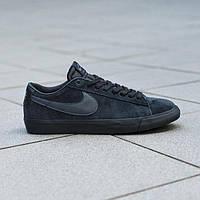 Кроссовки модные Nike SB Blazer Low Gt Black