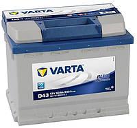 Аккумулятор VARTA Blue Dynamic D43 60Аh 540A 560 127 054