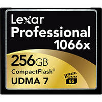 Карта памяти Lexar 256GB Professional 1066x Compact Flash Memory Card (UDMA 7), фото 1