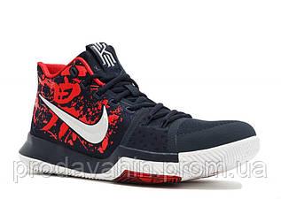 Мужские кроссовки Nike Kyrie 3 Samurai Red/Black/Multi