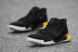 Мужские кроссовки Nike Kyrie 3 Black/Yellow