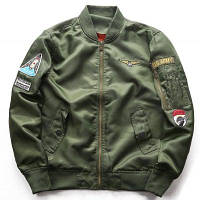 Костюм летного состава ВВС Бейсбол Униформа Толстое зимнее пальто Мягкое пальто XL