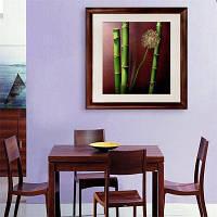 Специальная конструкция Каркасные картины Тонкая бамбуковая печать 12 x 12 дюйма (30cм x 30cм)