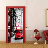 DSU Creative 3D-шина наклейки на лифте для напольного покрытия наклейки на стену для гостиной PVc Custom 77 x 200cм