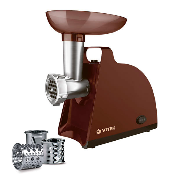 Мясорубка электрическая Vitek VT-3613, електромясорубка, мясорубка еле
