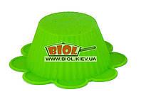 Силиконовая формочка для выпечки кексов/маффинов Ø6,5см (зеленый цвет) Empire EM-7113-2