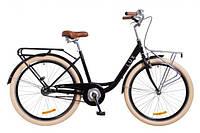 """Велосипед городской 26"""" Dorozhnik LUX 2018, (мужской, женский) с багажником спереди и сзади"""