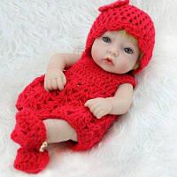 Моделирование Силиконовые игрушки для девочек-кукол Красный
