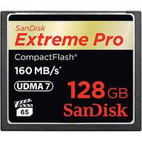 Карта памяти SanDisk 128GB Extreme Pro CompactFlash Memory Card (160MB/s)