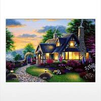 Naiyue J713 House Print Draw Алмазный рисунок Цветной