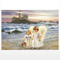 Naiyue J787 Angel Print Draw Алмазный рисунок Цветной