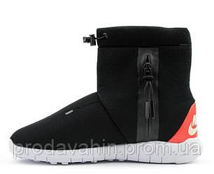 Ботинки теплые Nike Tech Fleece Boots Black