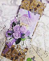 """Шоколадница. Сладкая открытка для женщины """"Прованс"""". Лучший подарок на 8 марта"""