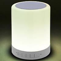 Портативная Bluetooth-колонка S-66, светильник, фото 4