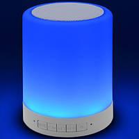 Портативная Bluetooth-колонка S-66, светильник, фото 5
