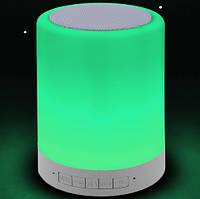 Портативная Bluetooth-колонка S-66, светильник, фото 7