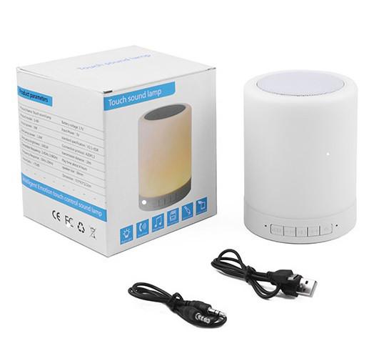 Портативная Bluetooth-колонка S-66, светильник