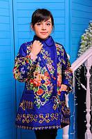 Пальто весеннее для девочки Дольче  (электрик)