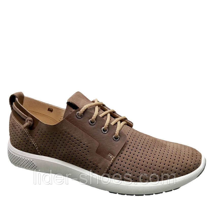 Мужские туфли коричневого цвета