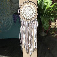 Handmade Dream Catcher Кружева Цветочная кисточка Big Dream Catcher Настенная витрина для дома Декоративные украшения для ремесла Подарки для