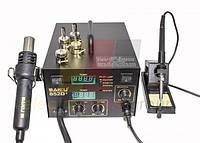 Паяльная станция BAKKU BK852D+ компрессорная, фен, паяльник