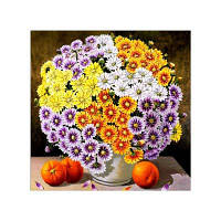 Naiyue 9840 Flowers Print Draw Алмазный рисунок Цветной