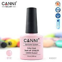 Гель-лак Canni 12 кремовый перламутр 7.3ml