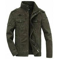 Загустительная зимняя многокамерная куртка большого размера XL