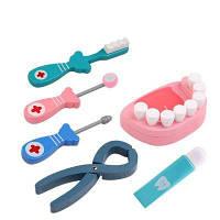 WUIBN Портативный детский доктор Медсестра Притворите игру Медицинский комплект Набор для стоматолога