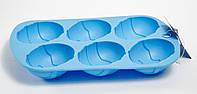 Форма силиконовая Пасхальные яйца Kamille 7748