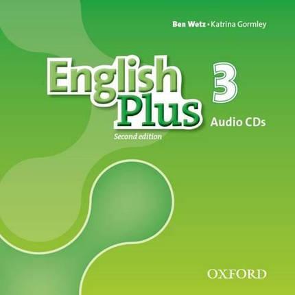 English Plus Second Edition 3 Class Audio CDs, фото 2