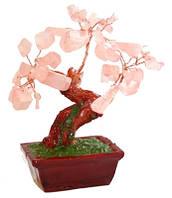 Дерево из розового кварца