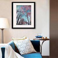 Специальная конструкция Каркасные картины Осенний пейзаж Печать 20 x 14 дюймов (50cм x 35cм)