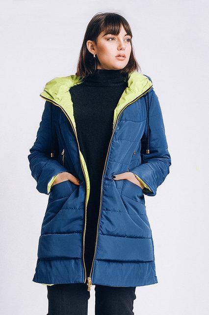0ee79607812c Женская демисезонная куртка больших размеров - Интернет-магазин