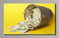 Картина HolstArt Доллары 1 54*32см арт.HAS-115