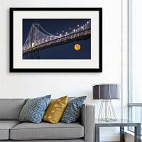 Специальная конструкция Каркасные картины Мостовая печать 20 x 14 дюймов (50cм x 35cм)